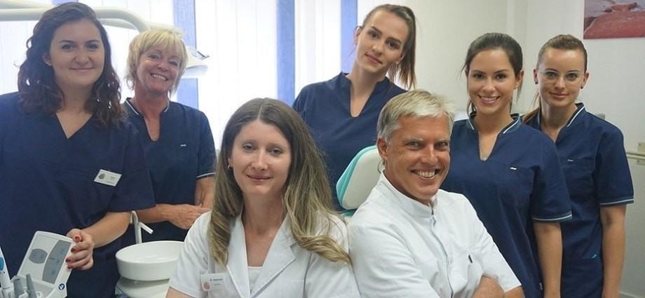 Das Team von Dr Thalhofer Zahnarzt am Harras
